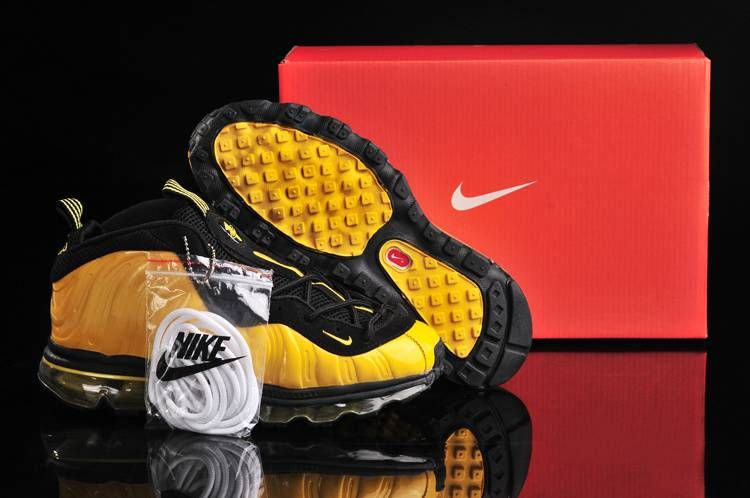 Womens Air Foamposite + Air Max 09 Sole Fusion Yellow Black  Womens Nike  Air Foamposite-5628  -  63.99   lebronxlows.net sale 7ecf07a60