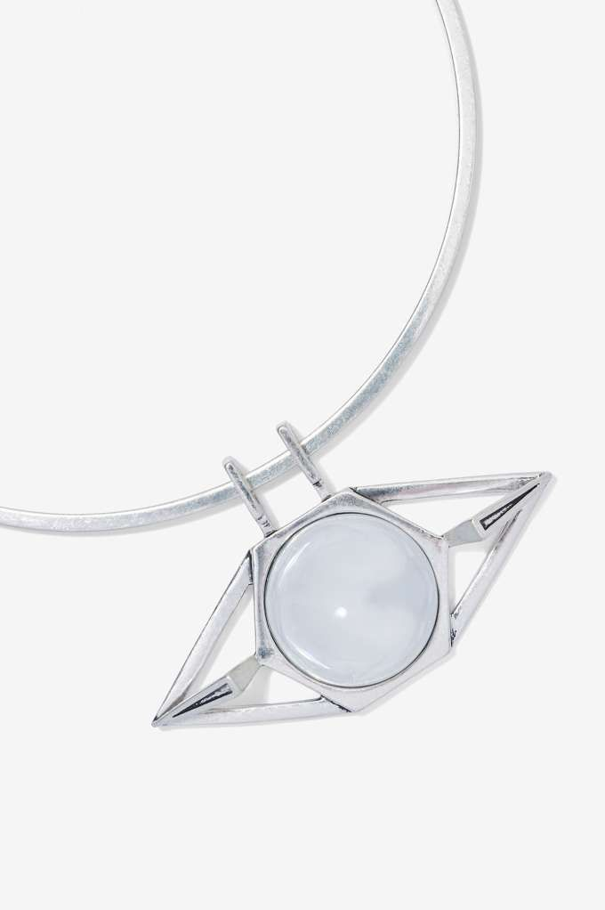 Jenny Bird Nova Orb Collar Necklace - Accessories | Necklaces | Silver