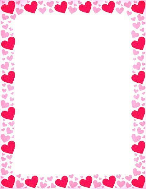 Free Clip Art Valentines Day Heart Border