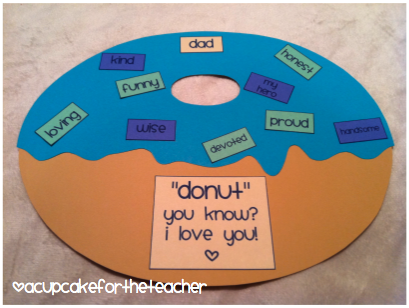 Fathers Day Donut