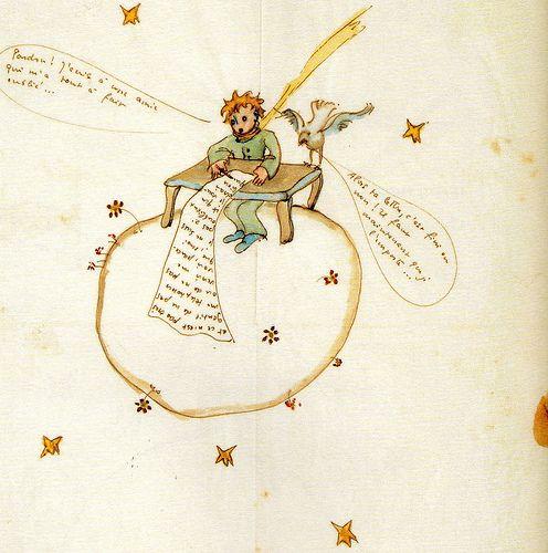 Lettres A L Inconnue Antoine De Saint Exupery Musee Des Lettres Et Manuscrits Paris Viie The Little Prince Lettering Prince Images