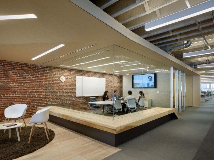 Zendesk san francisco headquarters conference room for Loft office design