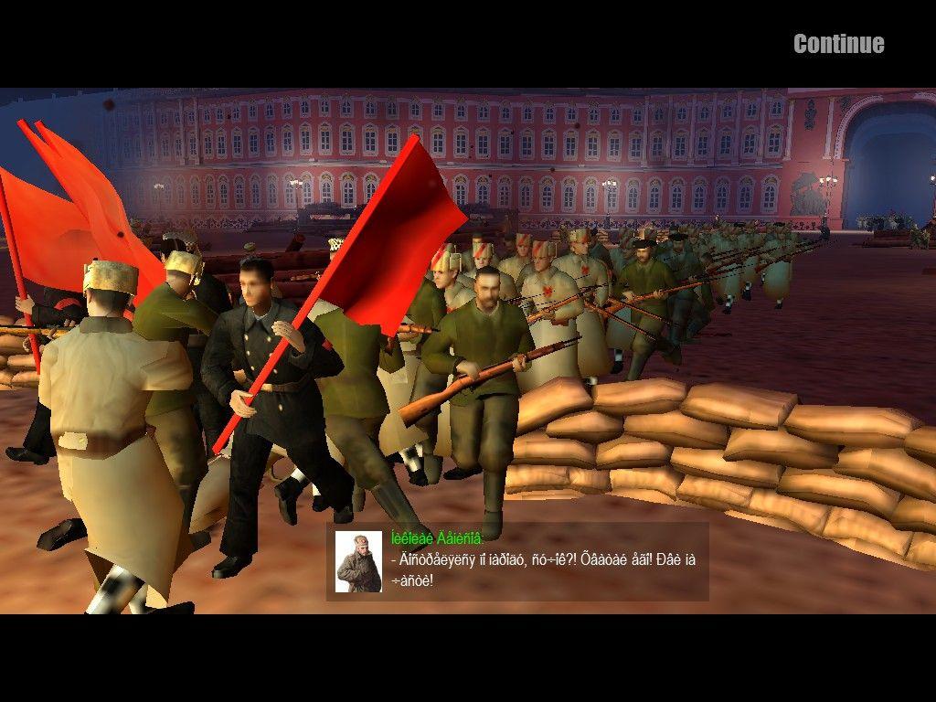 Screenshot from men of war (Russian civil war mod) | gaming
