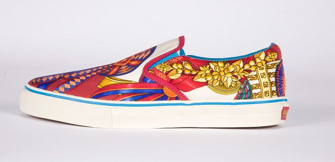 hermes vans sneakers slip on shoes collaboration