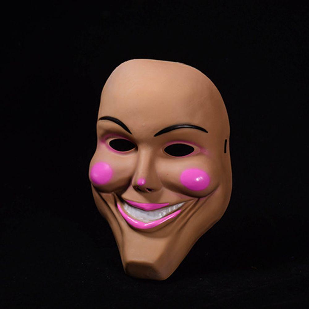 The Purge Mask Grin Halloween Film Movie Horror Fancy Dress Kiss Me God Smiling