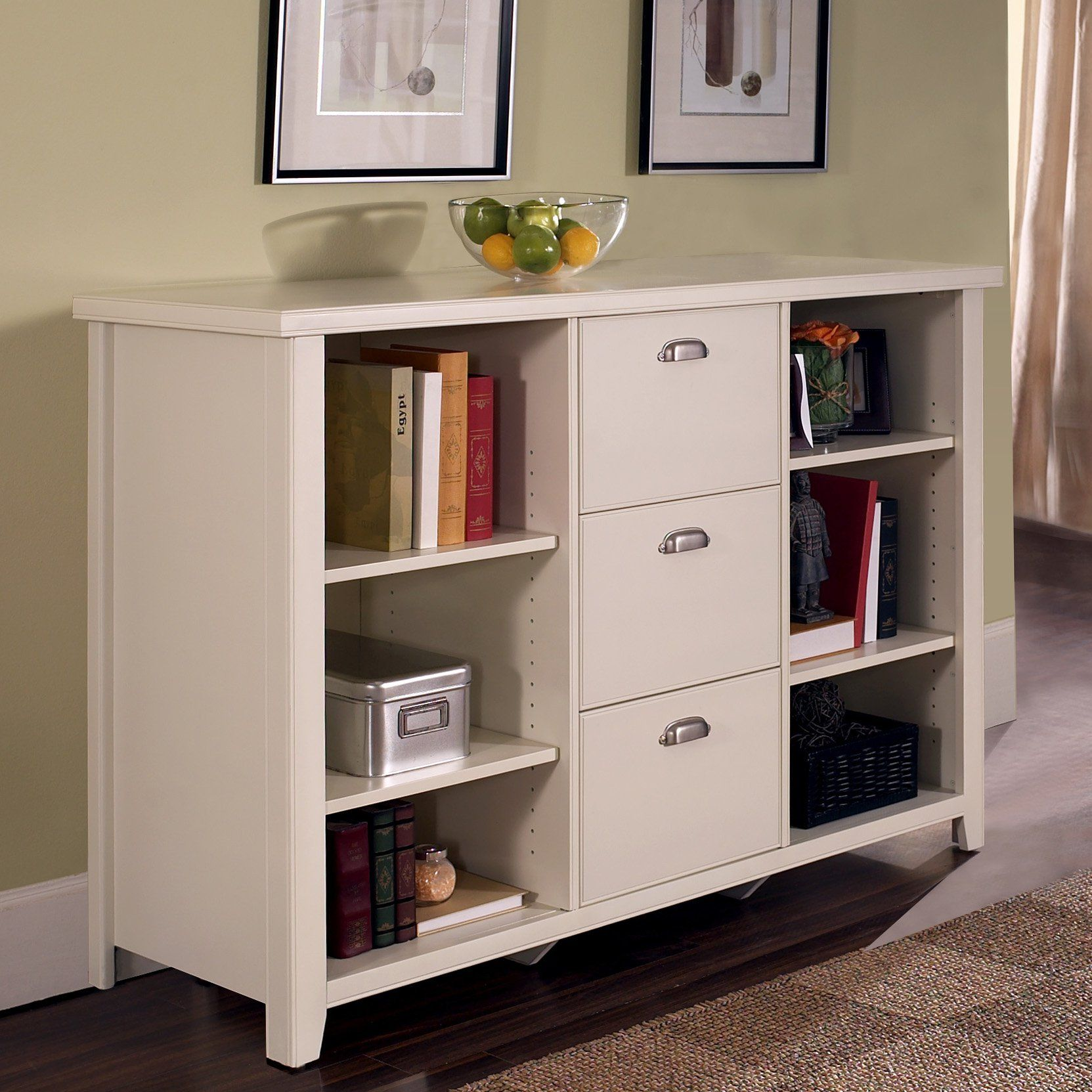 Have To Have It. Kathy Ireland Home By Martin Tribeca Loft Bookcase Filing  Cabinet