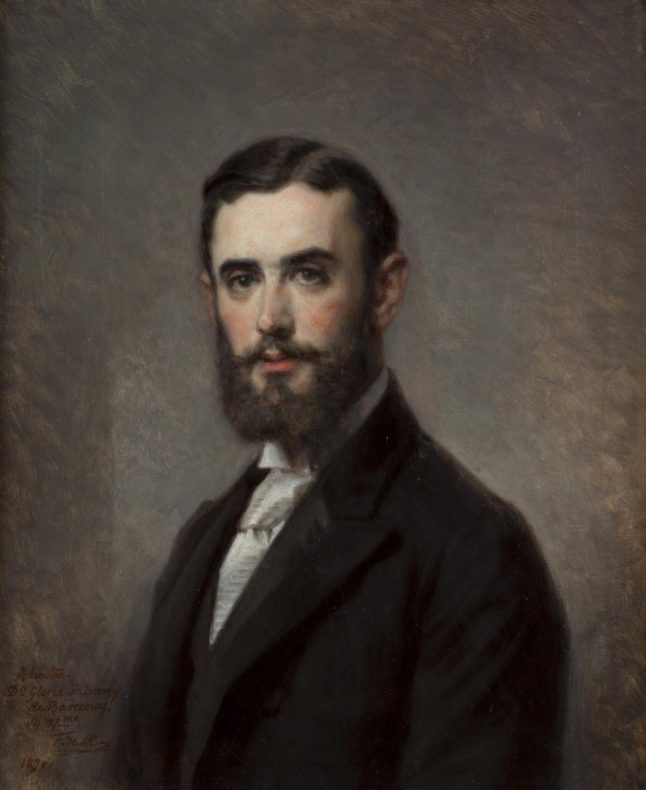 José de las Bárcenas y Bringas (1890). Federico Madrazo