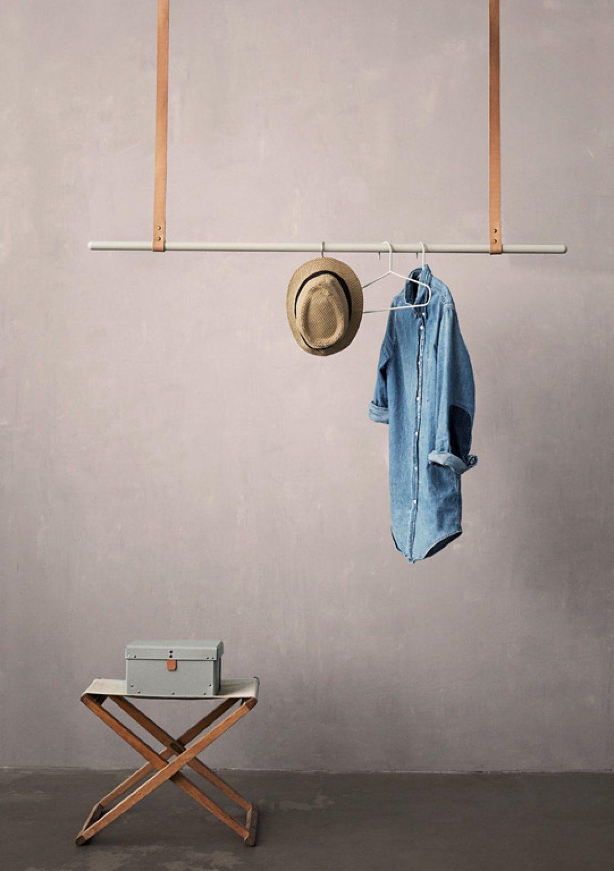 Schöne Alternative Zum Kleiderschrank: Diese Kleiderstangen Setzen Jacken,  Hemden Und Kleider Ins Rechte Licht.