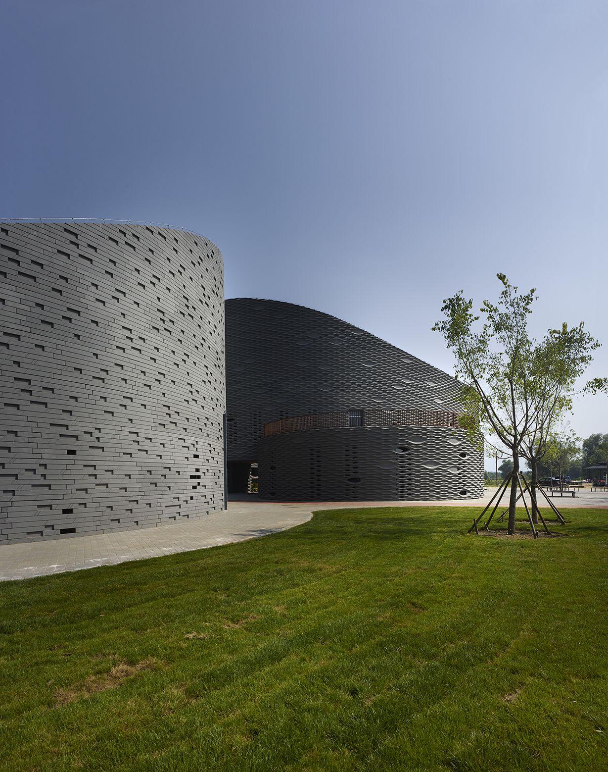 Exhibición de uva Yanqing / Archea Associati