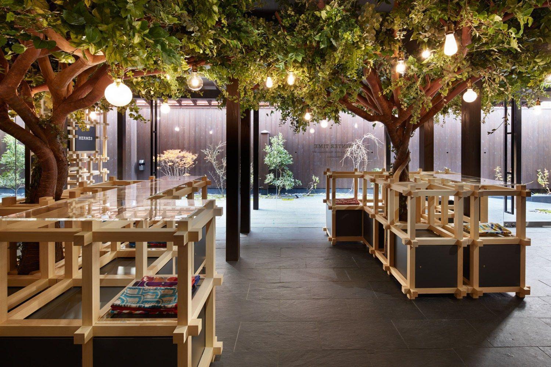 Herm S Cr E Un Magnifique Pop Up Store Au Japon Shop And Interiors # Muebles Savoir Faire