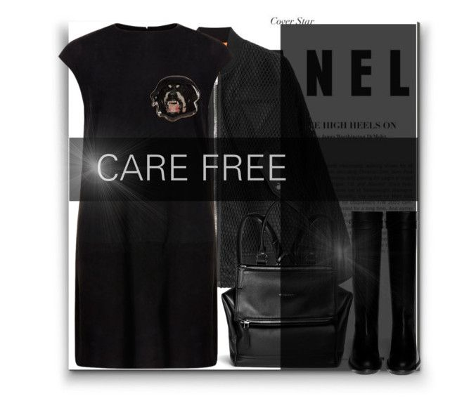 """""""#carefree"""" by byjjbh ❤ liked on Polyvore featuring Alexander Wang, MuuBaa and Givenchy"""