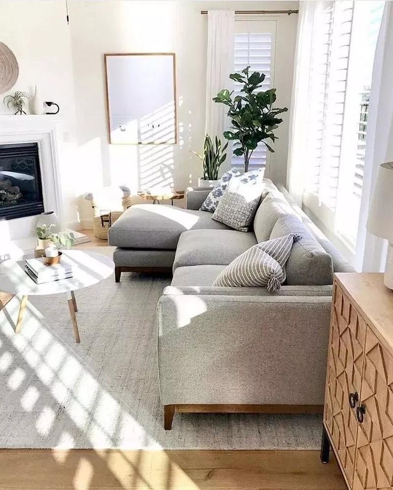 36 Perfektes Kleines Wohnzimmerdesign Fur Ihre Wohnung Fur Ihr In 2020 Small Apartment Decorating Living Room Small Living Room Design Small Apartment Living Room