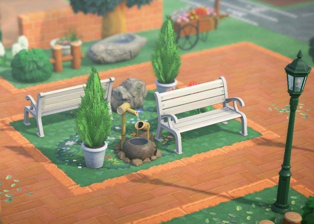 A little park for my little entrance!