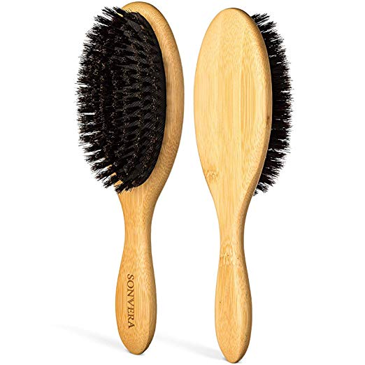 Amazon Com Boar Bristle Hair Brush Men Mens Brush Hair Brushes For Women Pure Boars Ha Boar Bristle Hair Brush Boar Hair Brush Natural Bristle Hair Brush
