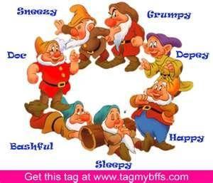 Pin en Snowhite and 7 dwarfs