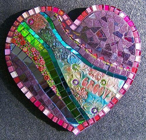 Cute #mosaic #heart