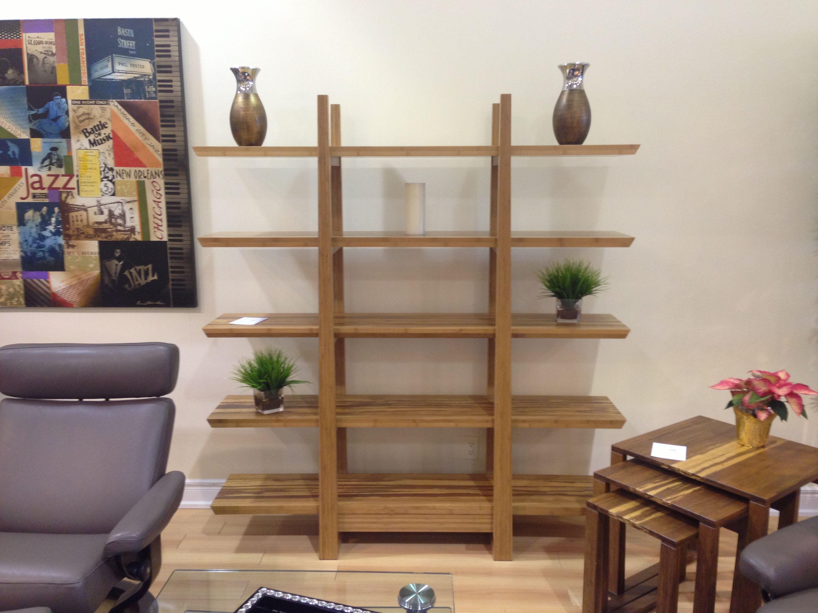 Bamboo Shelving From Greenington Fine Bamboo Furniture