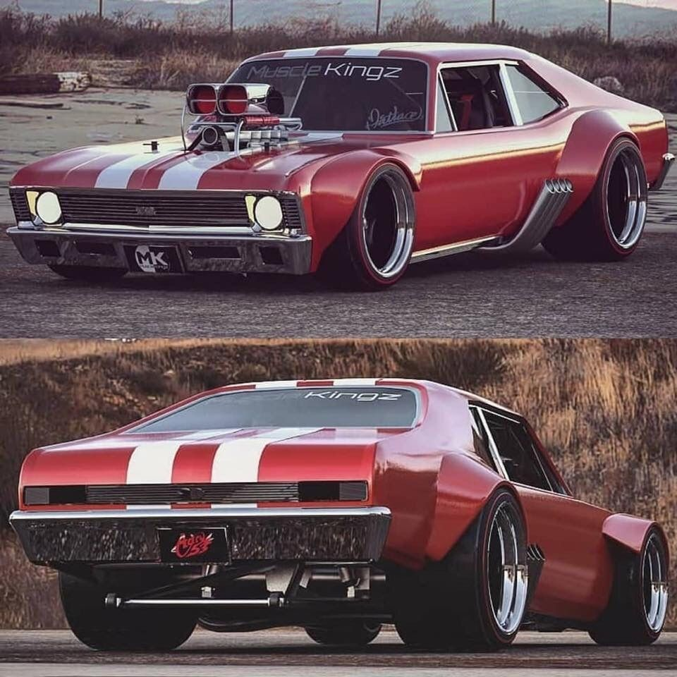 Radical Look Chevy Nova Chevy Vehicles Chevy Muscle Cars