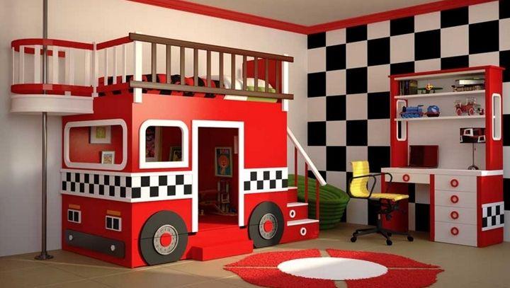 Camas infantiles con formas divertidas camarotes - Literas infantiles divertidas ...