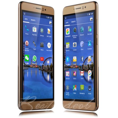 """Gold Unlocked 6.0"""" Android Smart Mobile Phone Quad Core WiFi 3G GPS 2 SIM Touch https://t.co/7QEhyEW9th https://t.co/O2fkabgcuL"""