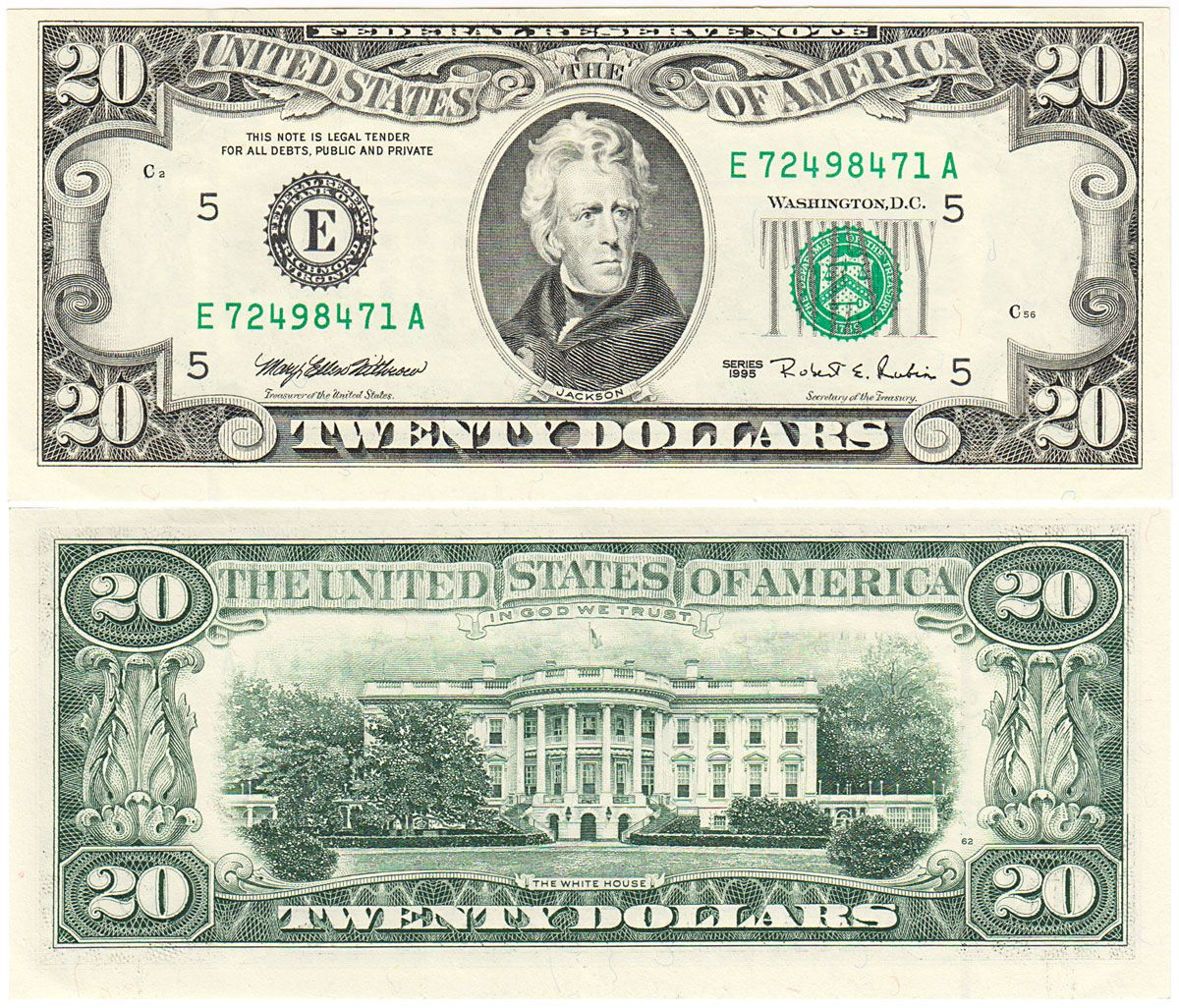 50 Dollar Bill Worksheet