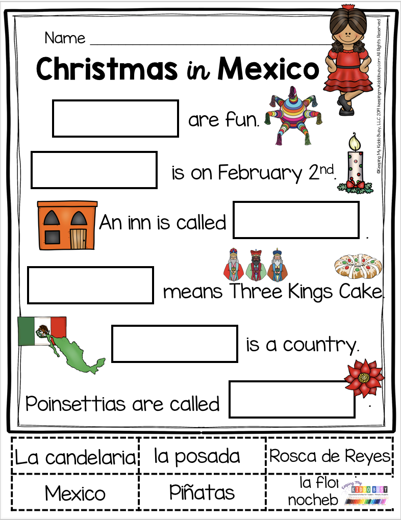 All About Christmas Free Activities Mexico Italy And Germany Keeping My Kiddo Busy Christmas Kindergarten Christmas In Germany Christmas In Italy