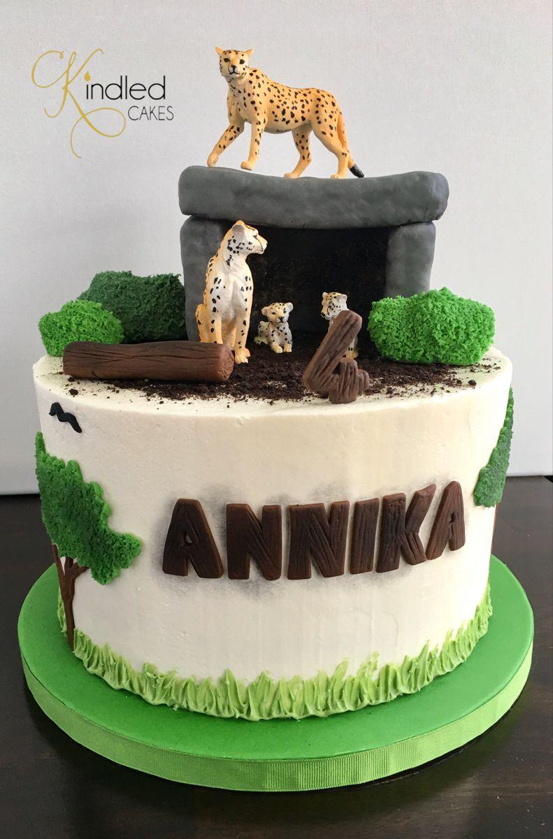 Cheetah Cake | Cheetah cakes, Creative birthday cakes, Cheetah birthday  cakes