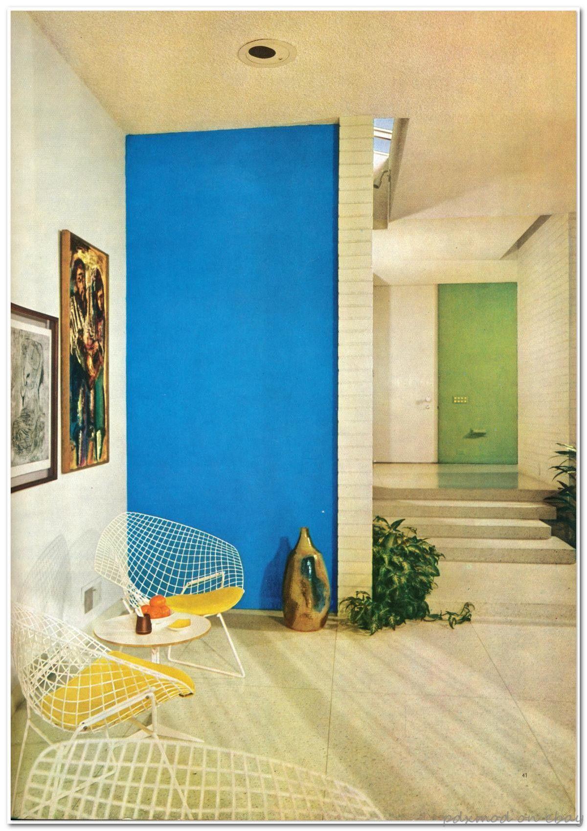 Ahhhhh home!  Mid century modern interiors, Design, Mid century