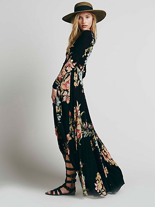 After the storm maxi dress free people