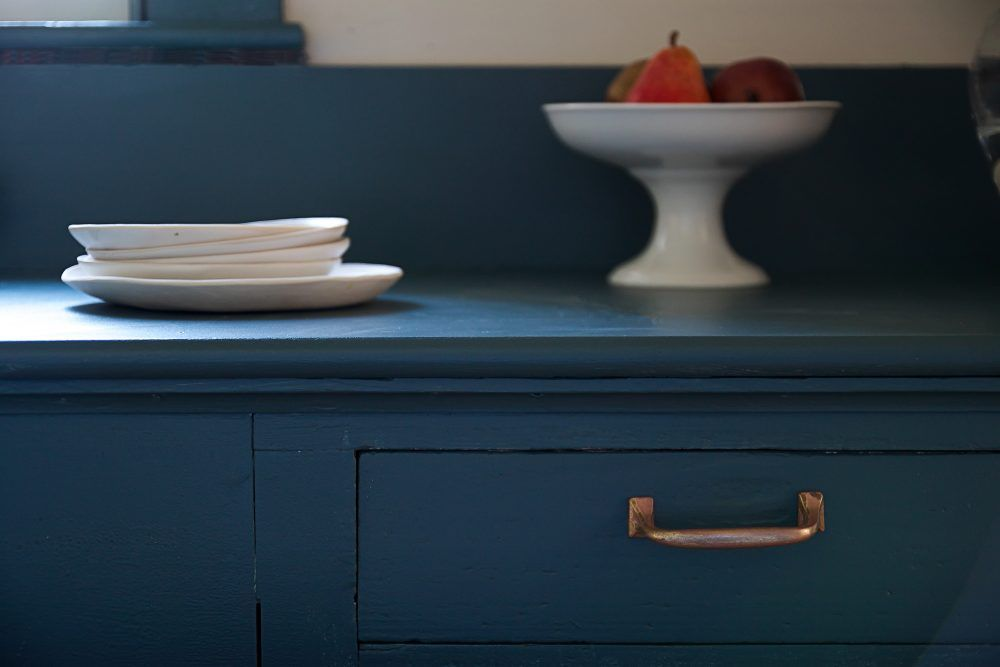 Best Moody Midnight Pantry With Farrow Ball Paint Solid 400 x 300
