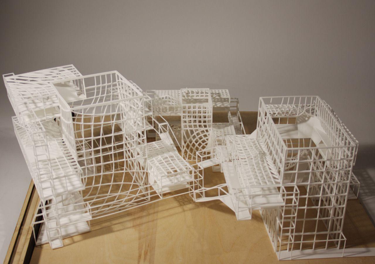 Yvonne Tan AA School Beautiful architectural model. I