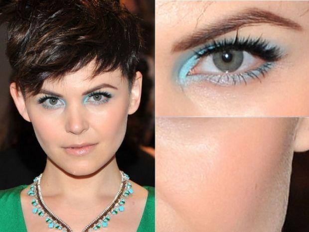electric turqouise eyeshadow