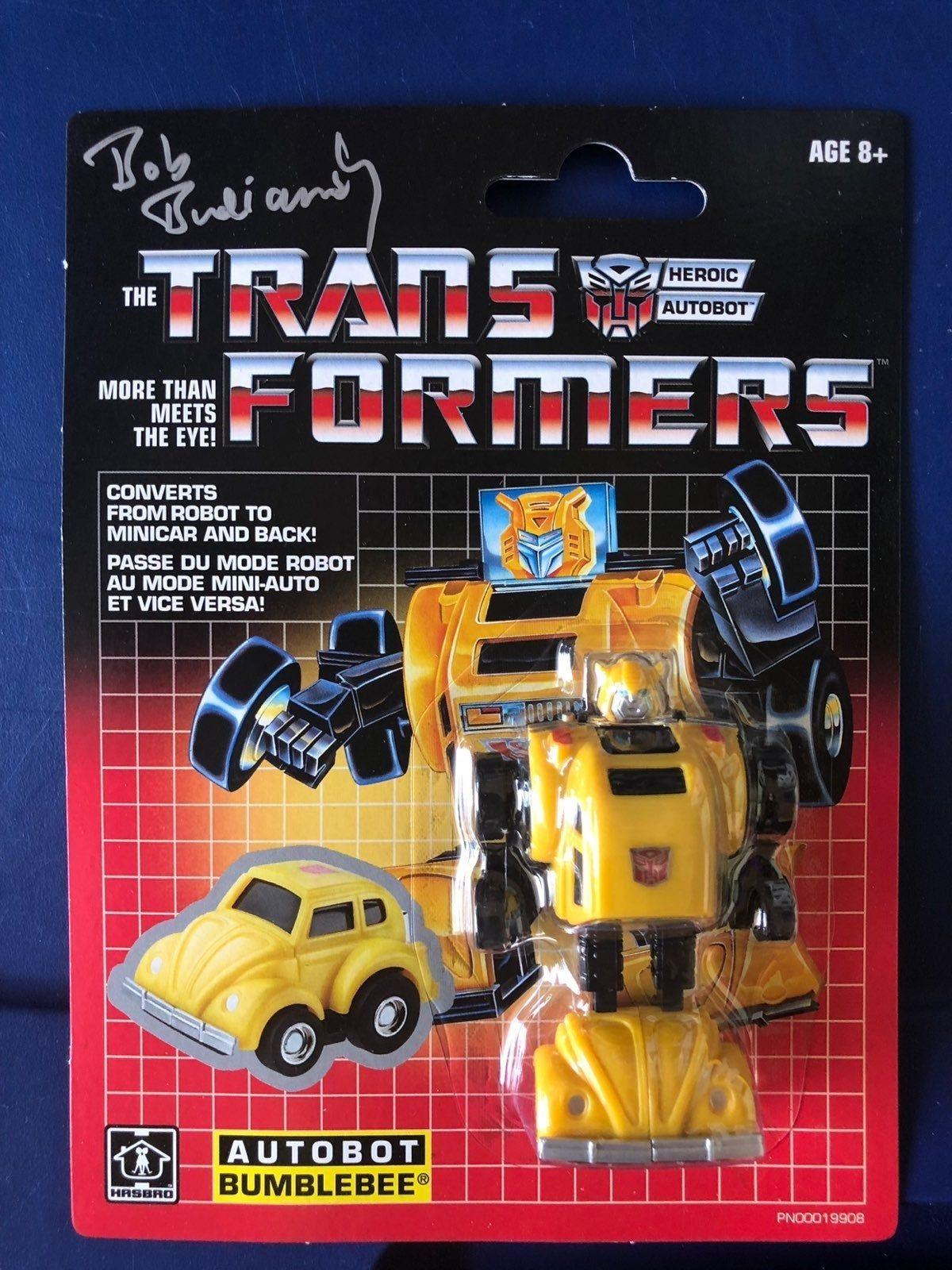 Transformers G1 Mini Bags Bumblebee New Sealed