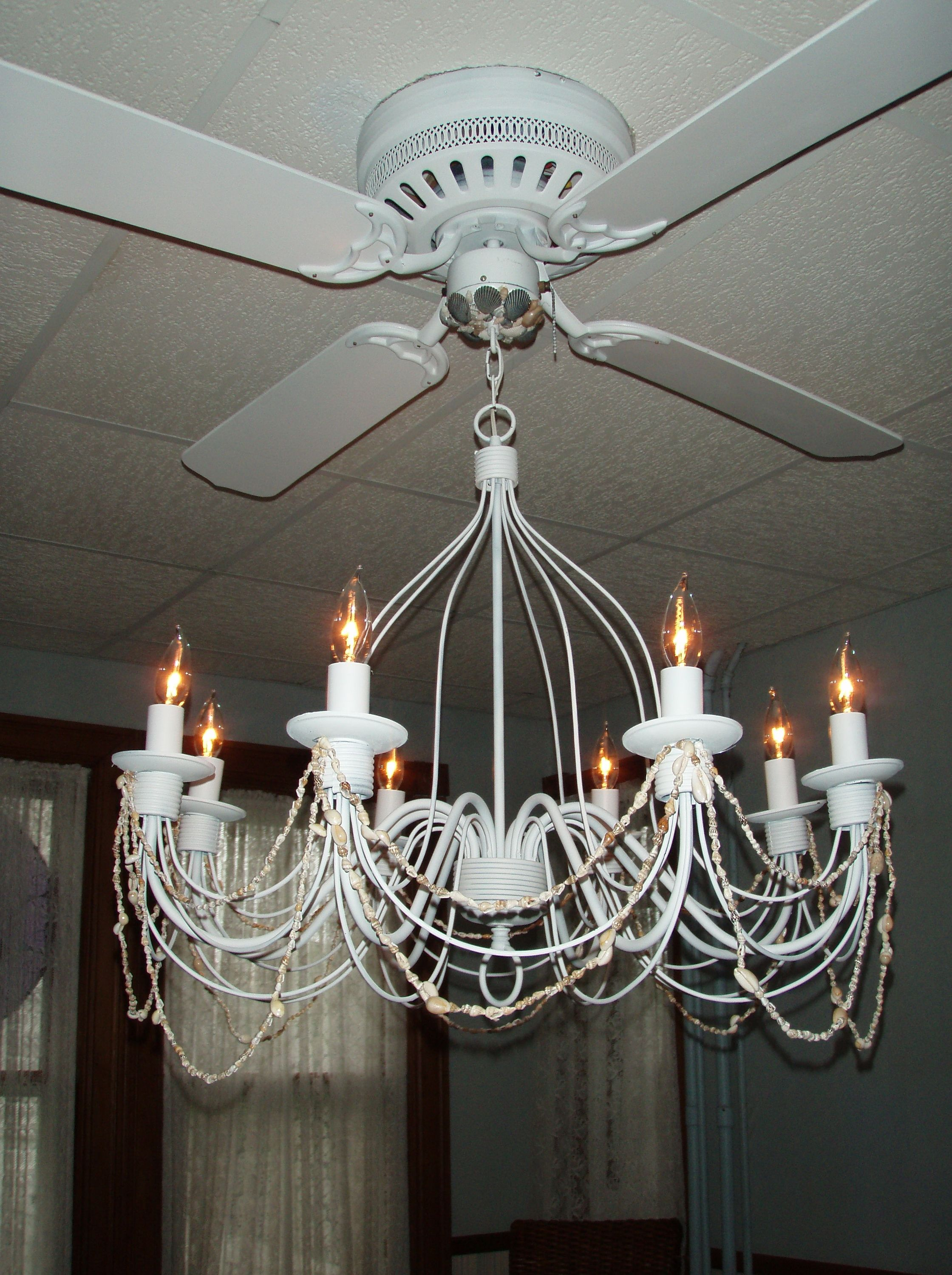 Crystal Chandelier Ceiling Fan bination
