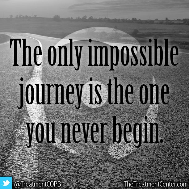 The Only Impossible Journey Is The One You Never Begin