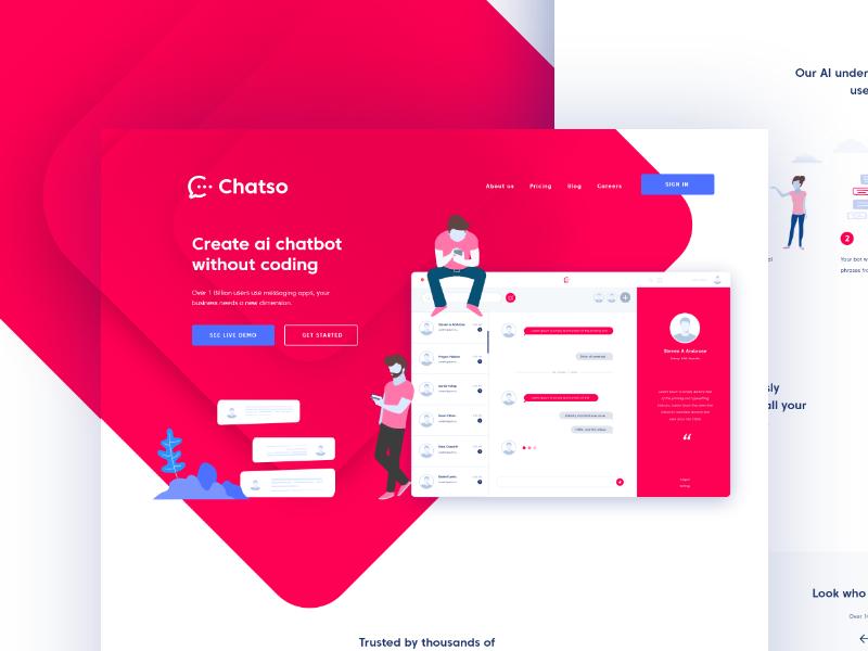 Chatbot Landing Page Chatbot Landing Page Web Design Tips