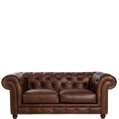 Butlers Onlineshop Old England Leather 2 Seater Sofa Ledersofa 2er Sofa Sofa