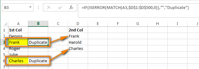 Compare two columns and remove duplicates in Excel | Excel, Excel formula,  Microsoft excel
