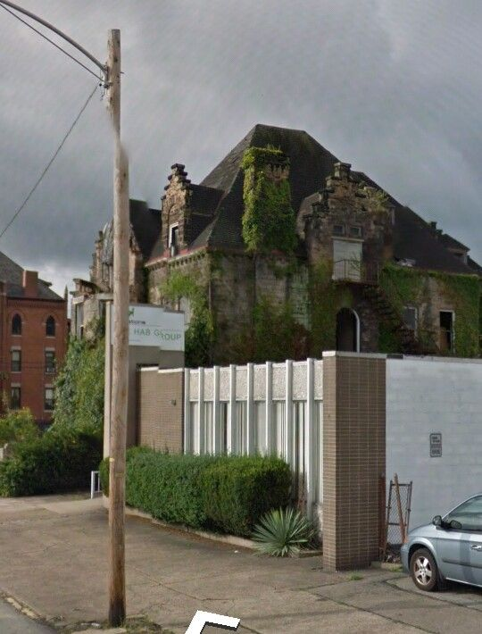 Hitzrot House (1892) 626 Market Street McKeesport, Pennsylvania. Demolished July 2014