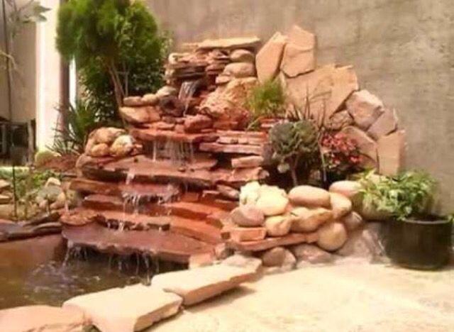 Pin de Sofia Gallardo en cascada en 2018 Estanques, Fuentes de