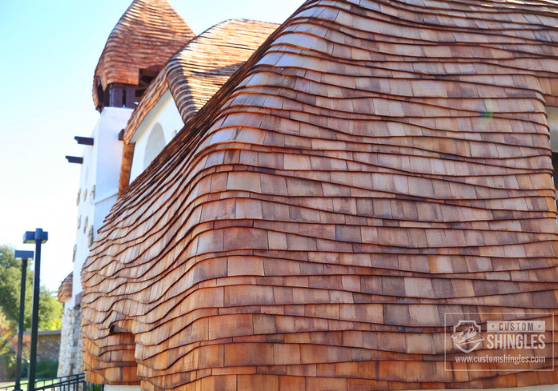 Cottage Shingles Custom Shingles In 2020 Wood Roof Shingles Shingling Shingle Roof Details