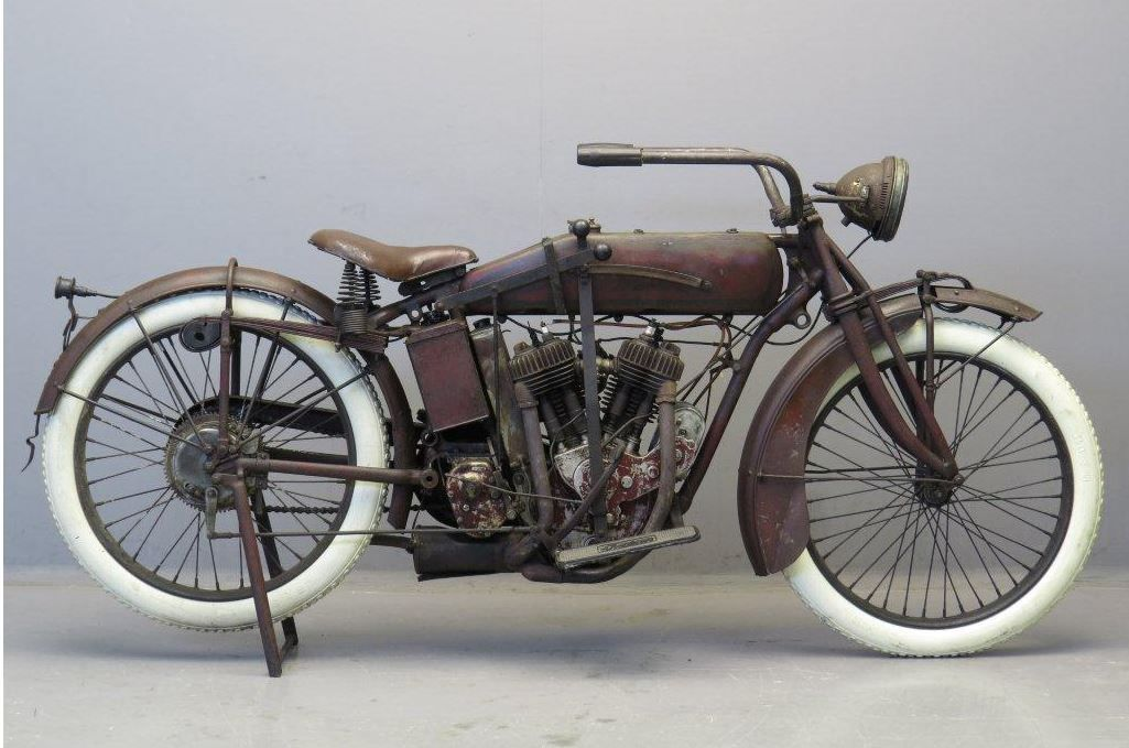 Indian 1917 Powerplus 1000cc 2 Cyl Sv Indian Motorcycle Vintage Indian Motorcycles Motorcycle