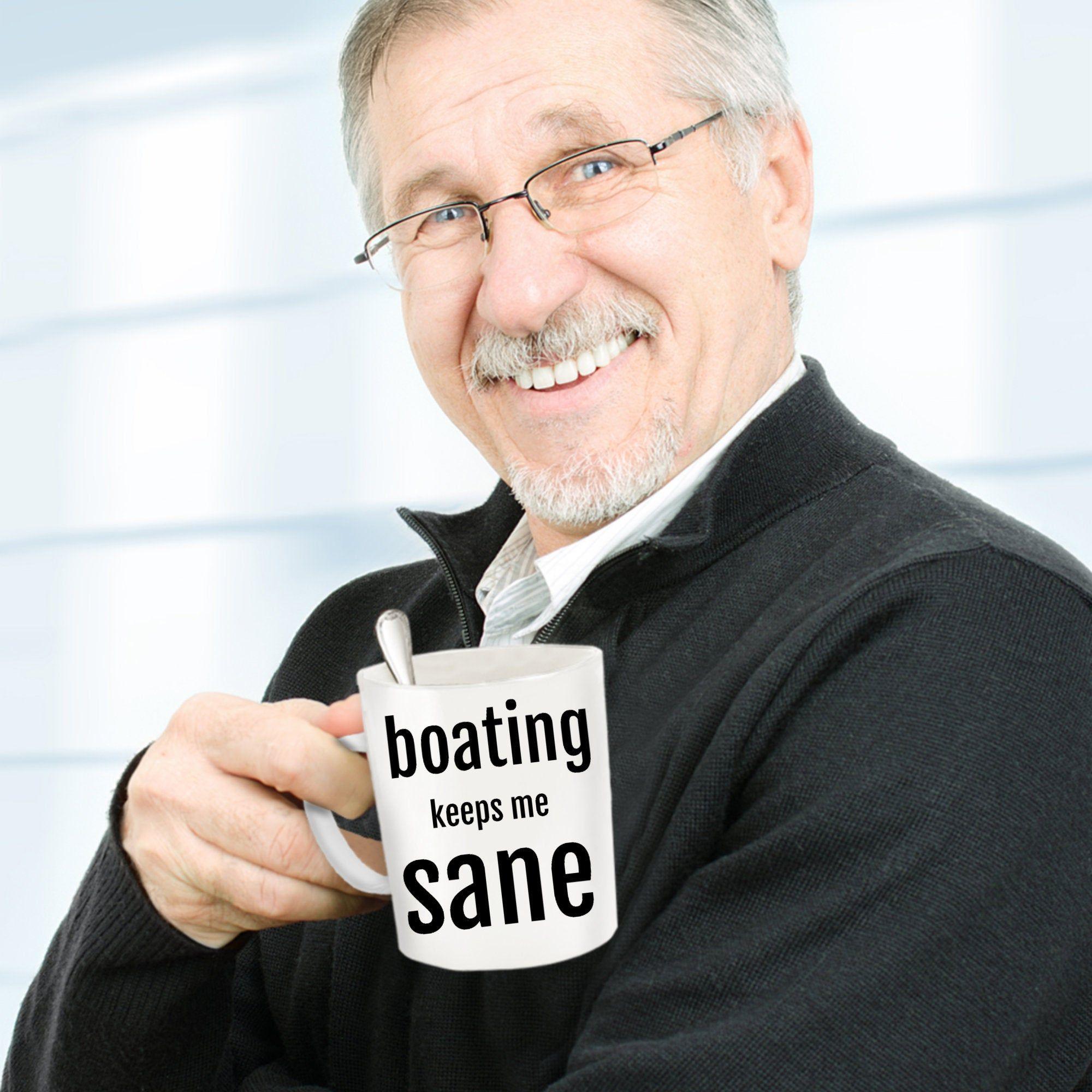 Boating mug boating gift boating gifts boating mugs etsy