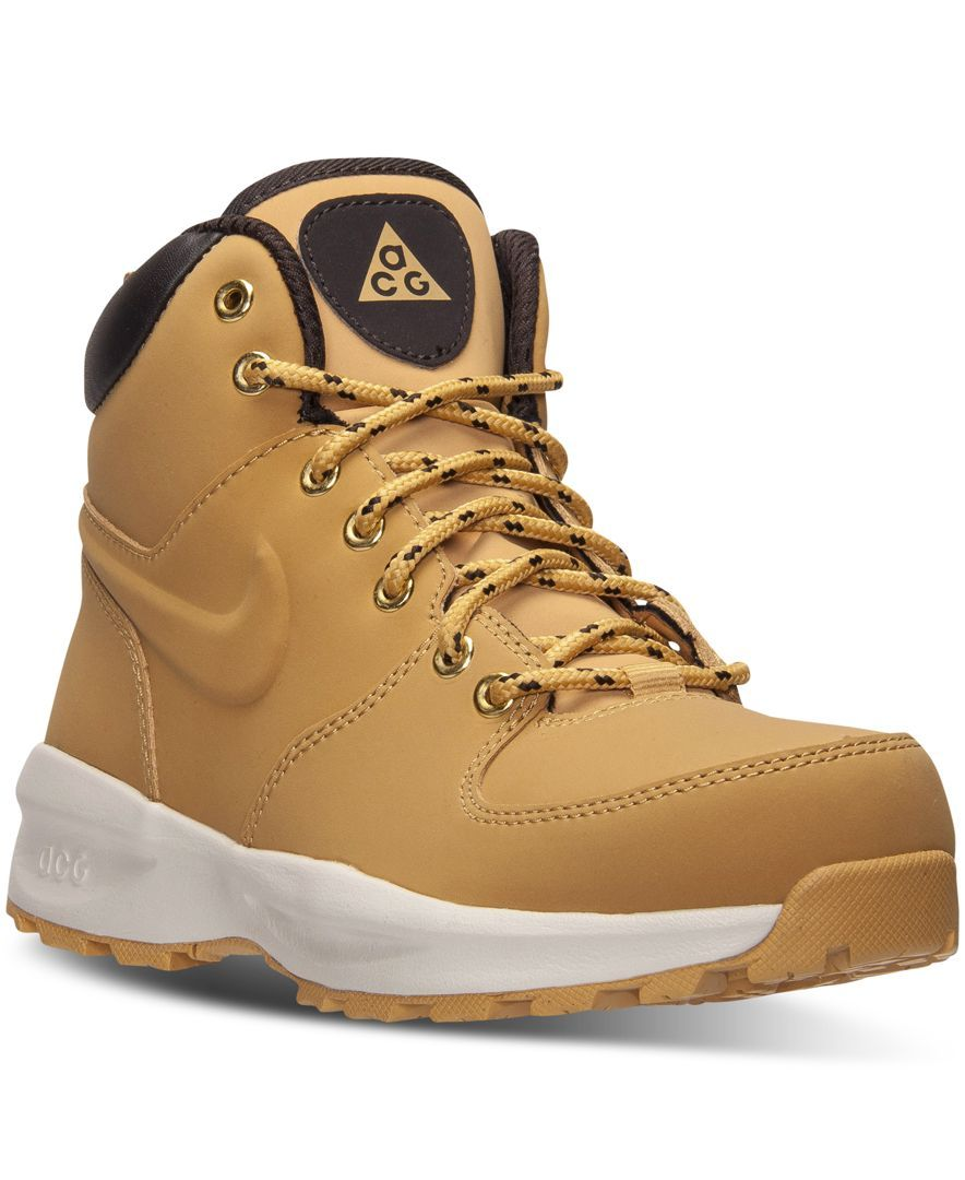 Nike Boys' Manoa Leather Boots from Finish Line - Finish Line Athletic  Shoes - Kids & Baby - Macy's