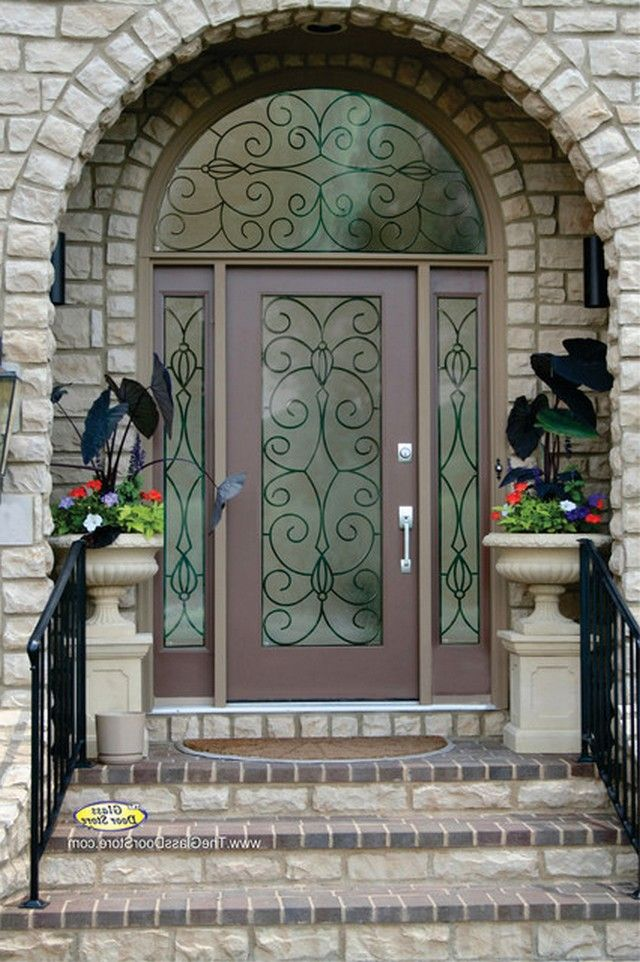 Metal front doors for homes with glass house ideas pinterest metal front doors for homes with glass planetlyrics Image collections