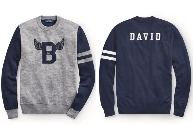 Ralph Lauren Offers Design Your Own Crewneck Sweaters Trends In
