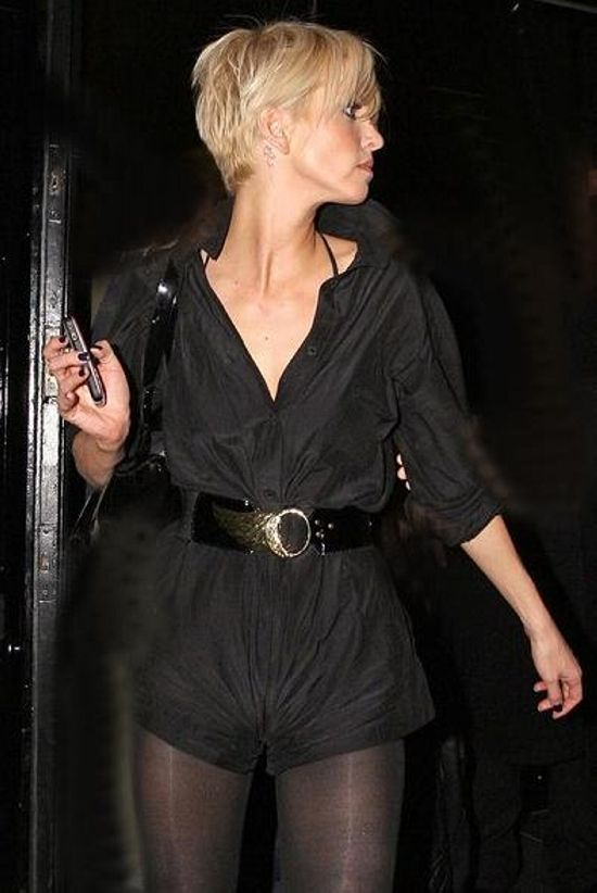 Sarah Harding Hairstyles...a better view of the back