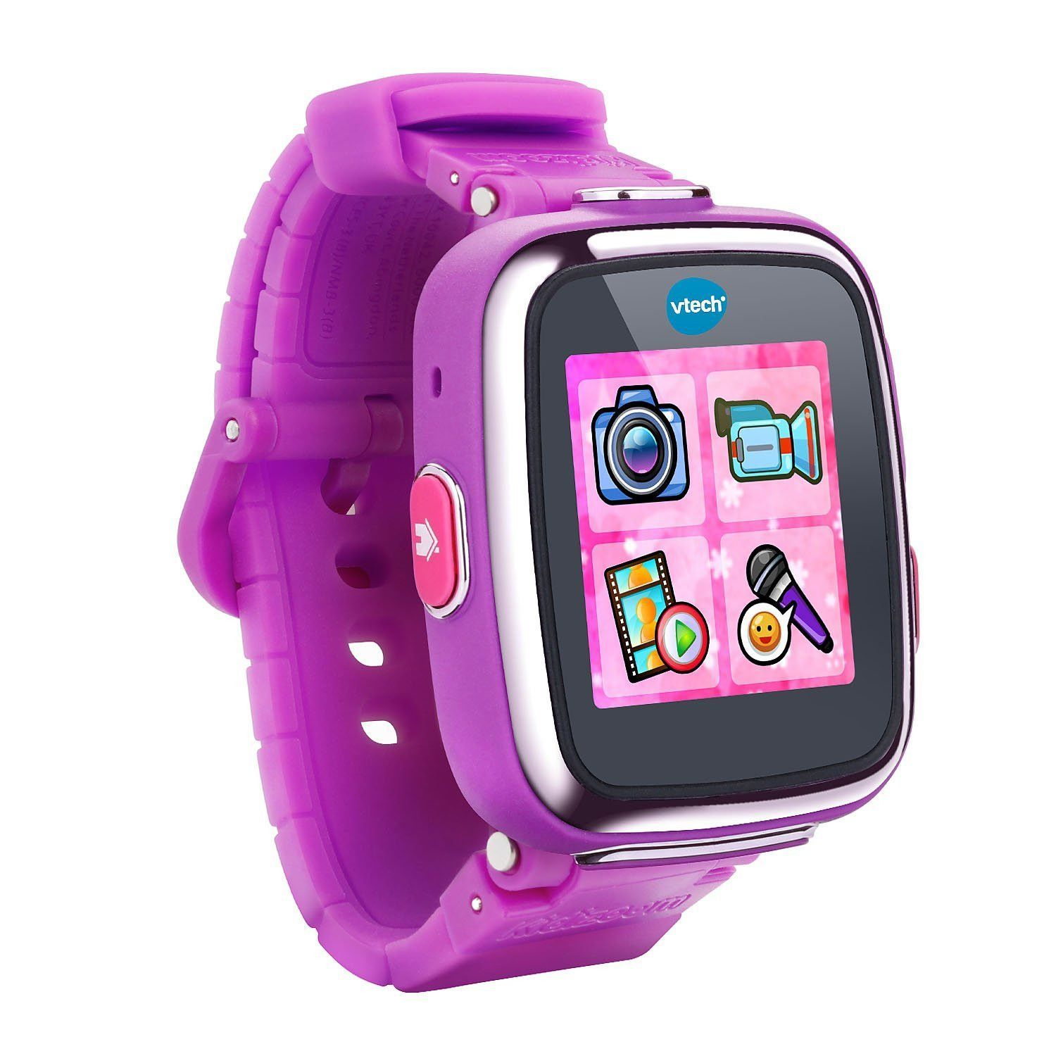 Vtech 80 171650 Kidizoom Smartwatch Dx Vivid Violet 2nd Generation Snap Circuits Sound Light Combo By Elenco On Barstons Childs Play The Is An Even Smarter Watch For Kids With More Fun Games And Activities Features 3 5