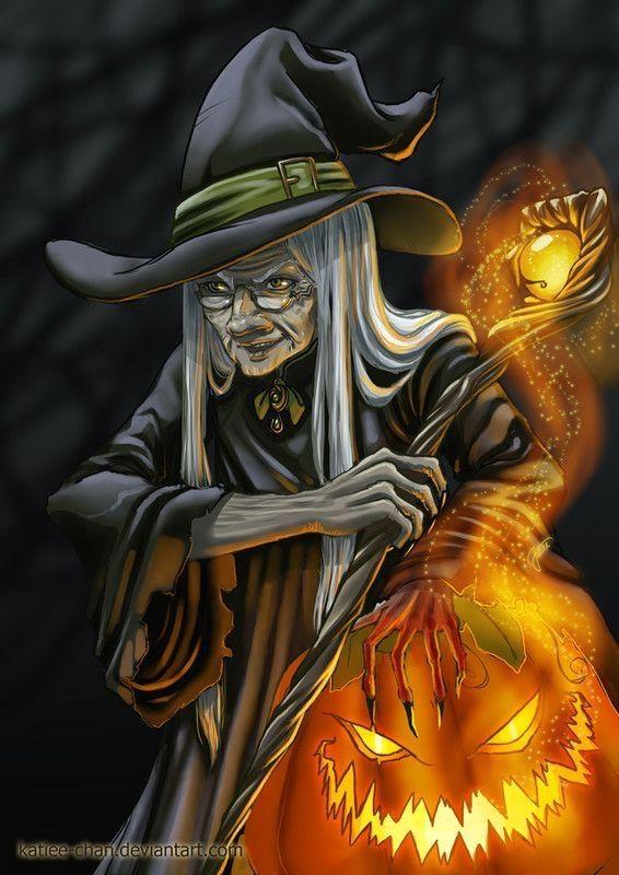 pinpatriceracine on witch in 2020  halloween artwork