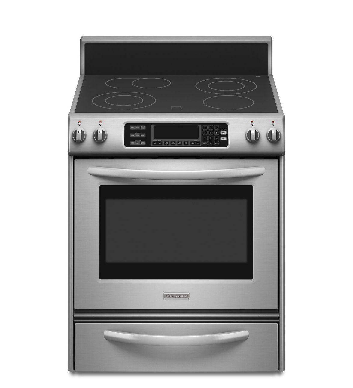 KitchenAid® 30 Inch 4 Element Electric Freestanding Range, Architect®  Series II · Wall OvenKitchen ...